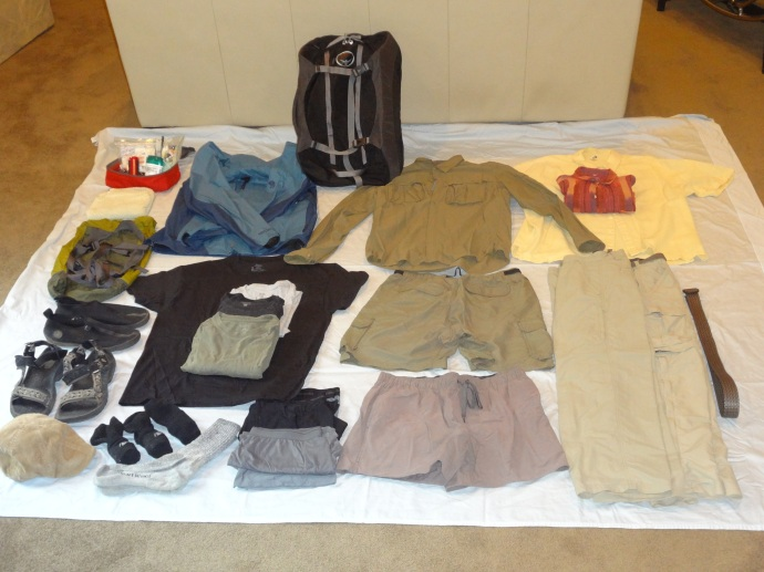 Packing for Long Term Travel
