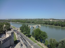 Medieval Bridge on the Rhone