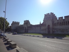 Avignon's Medieval Outer Wall