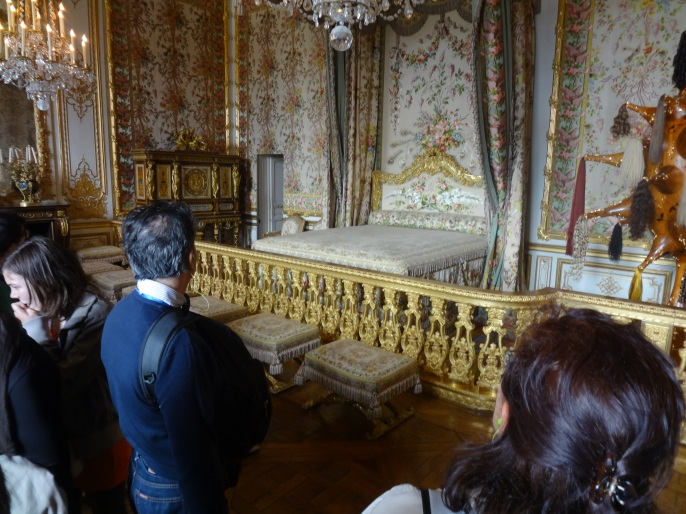 Marie Antoinette Bed Chamber - Versailles