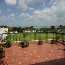 Patio at Hotelito La Ceiba - Bacalar