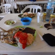 Lunch with El Chapulin