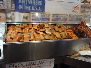 Smoked Salmon Pike Place Market