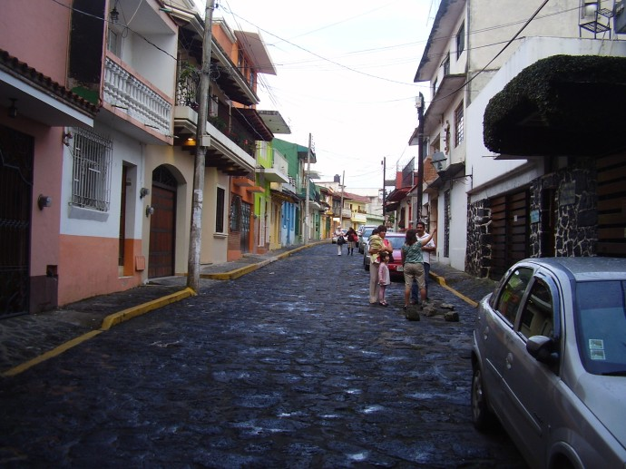 City Street Xalapa