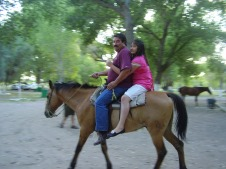 Riding in the Park