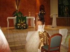 Adriana at Altar