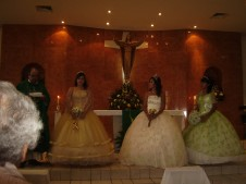 The Three Quinceañeras