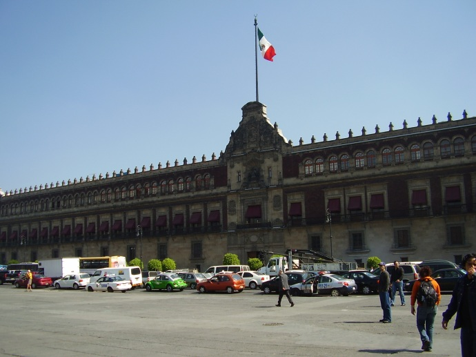 Government Palace, Mexico City