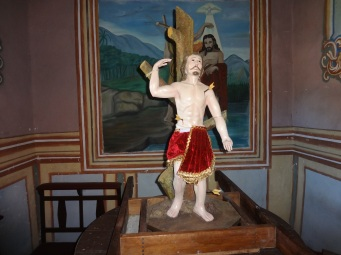 Figure of San Sebastian