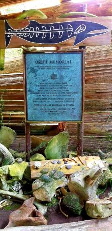 Ossett Memorial Cape Alava
